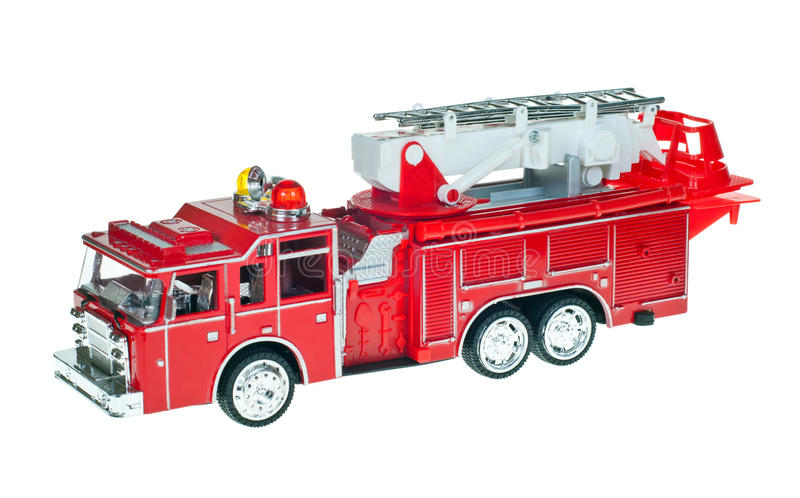 Toy Fire Engine royalty free stock photos