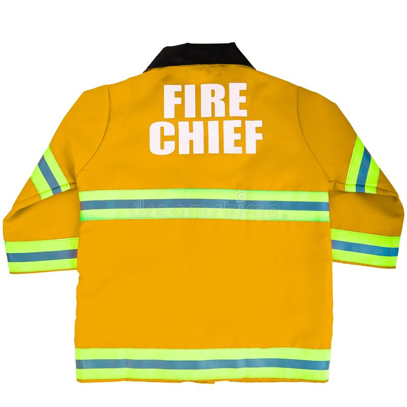 Toy Fireman Jacket immagine stock