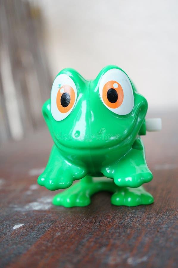 Toy Frog stock afbeeldingen