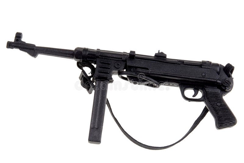 Download Toy german machine gun stock image. Image of military - 2181653