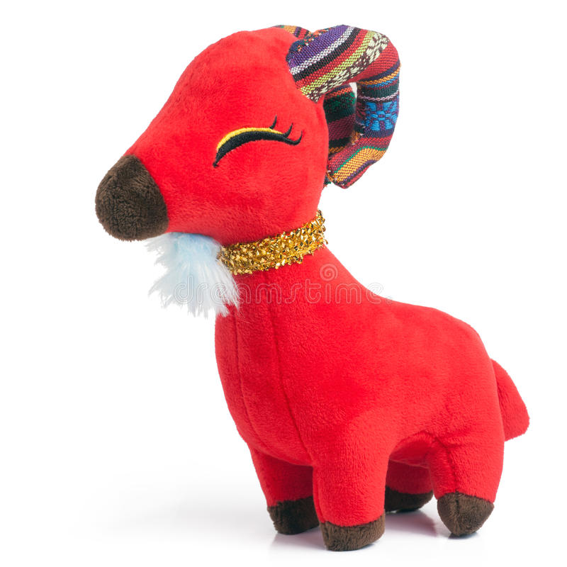 Toys For Chinese New Year : Toy goat stock photo image