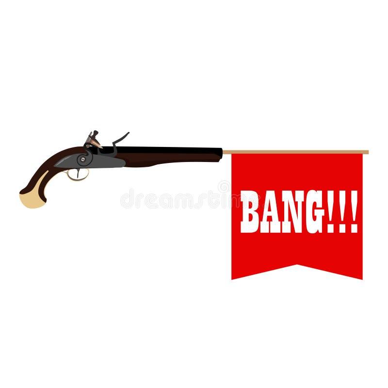 Toy Gun vector illustratie