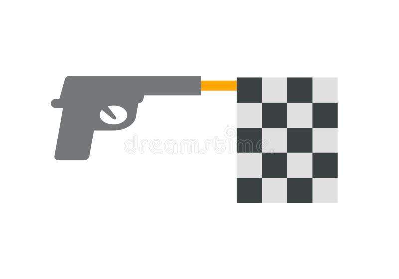 Toy Gun royalty illustrazione gratis