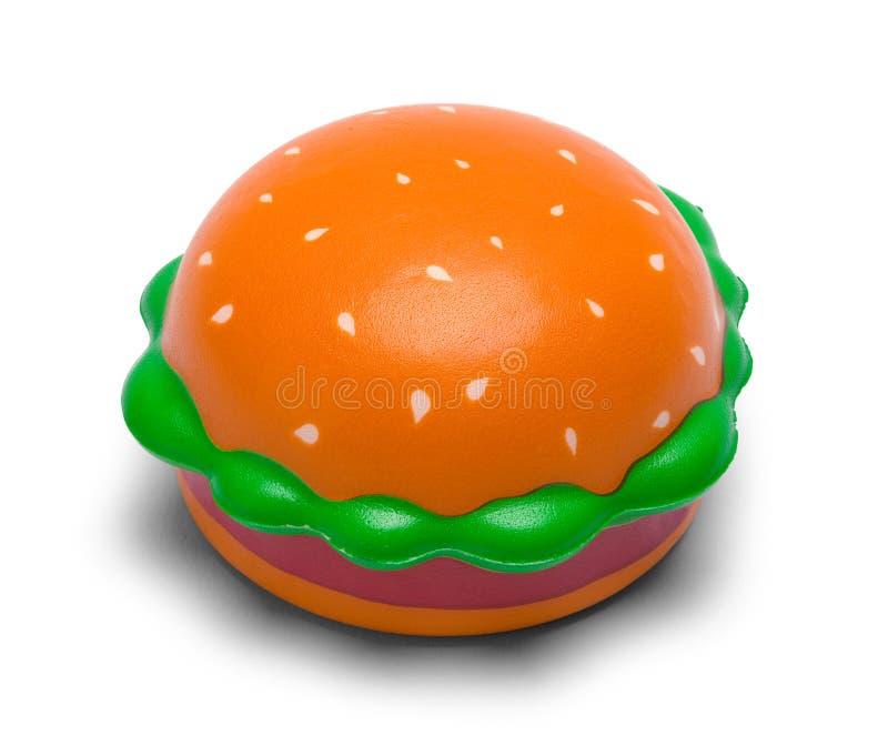 Toy Hamburger stockfoto