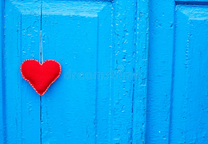 Toy Heart For Holiday Royalty Free Stock Photo