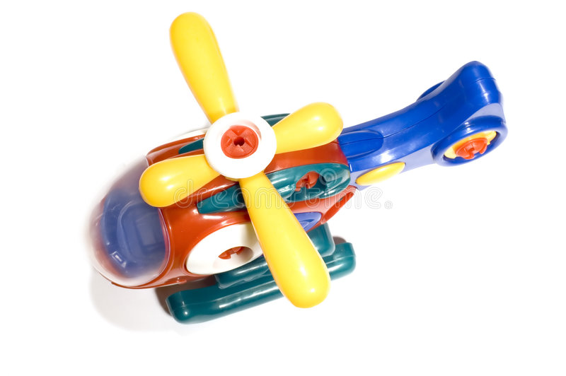 Toy helicopter royalty free stock image
