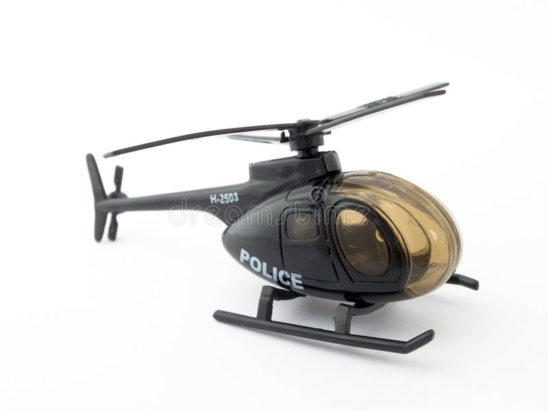 Toy helicopter royalty free stock images