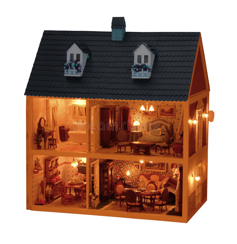 Download Toy house stock image. Image of construction, door, house - 10724611
