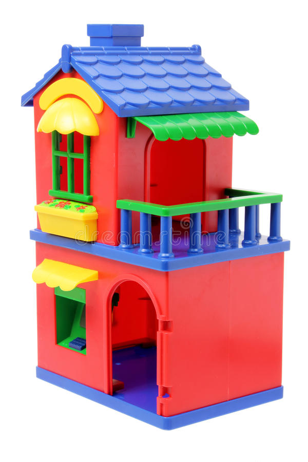 Download Toy House stock image. Image of home, estate, abode, real - 25977725