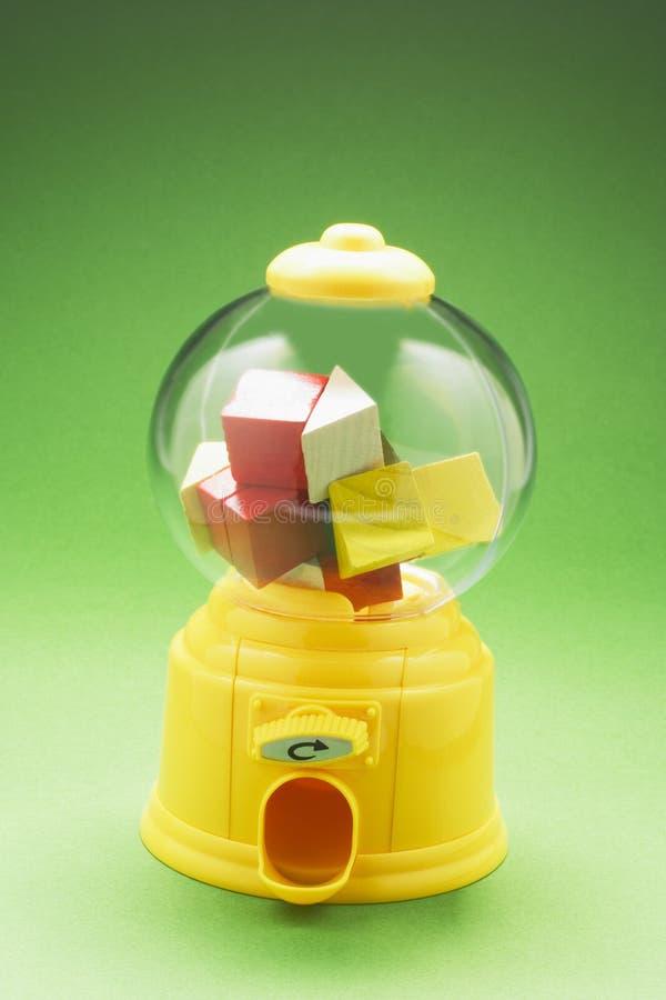 Toy Houses dans la machine de Bubblegum photos libres de droits