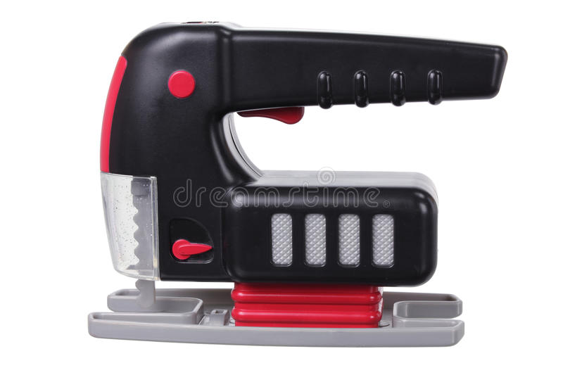 Toy Jig Saw. On white Background royalty free stock photo