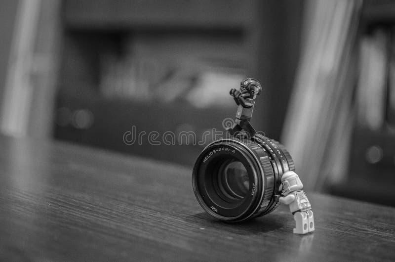 Toy Men Pushing Lens Free Public Domain Cc0 Image
