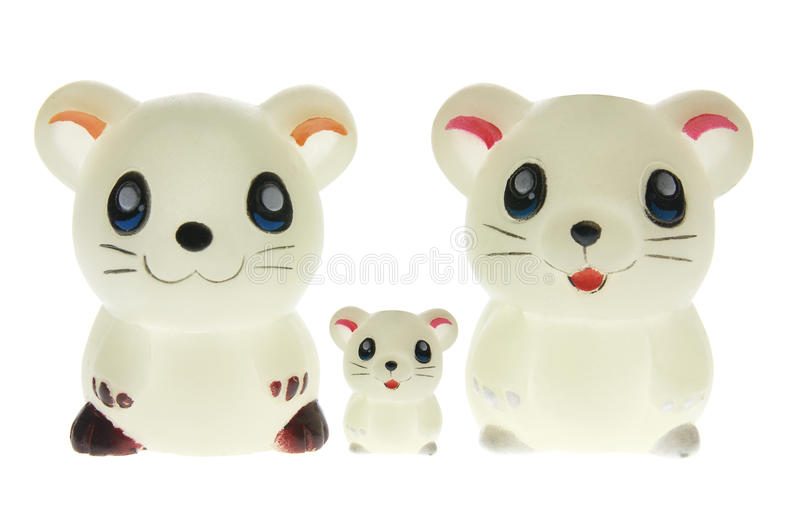Toy Mice royalty free stock photo