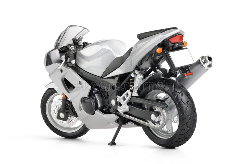 Download Toy Motorcycle On White Background Royalty Free Stock Photo - Image: 21375545