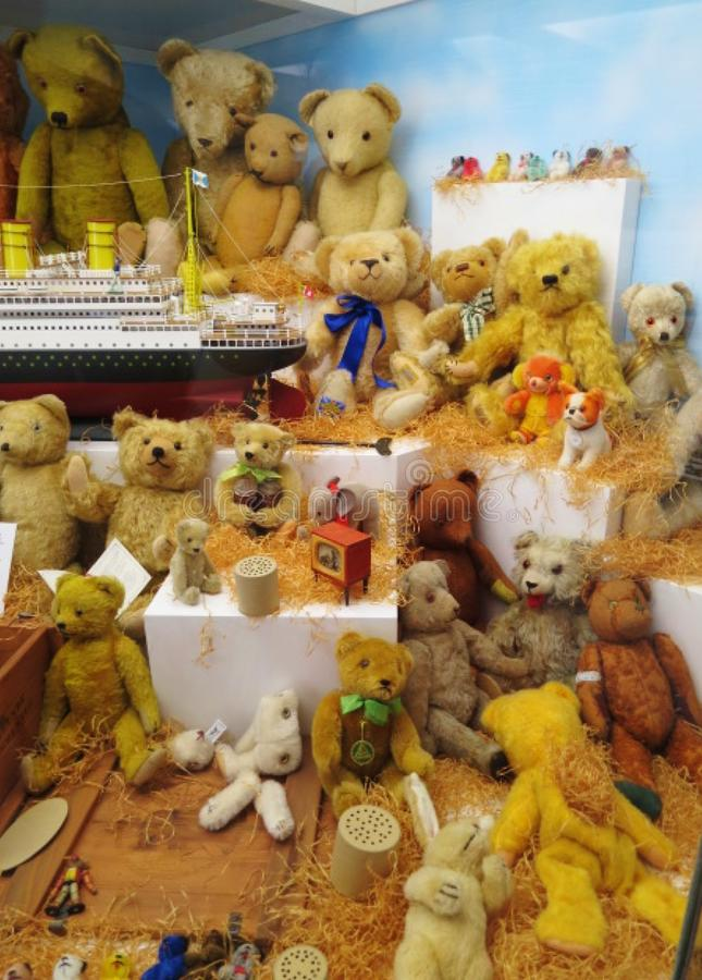 Toy Museum in Prag stockbilder