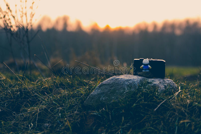 Toy photographer royalty free stock photos
