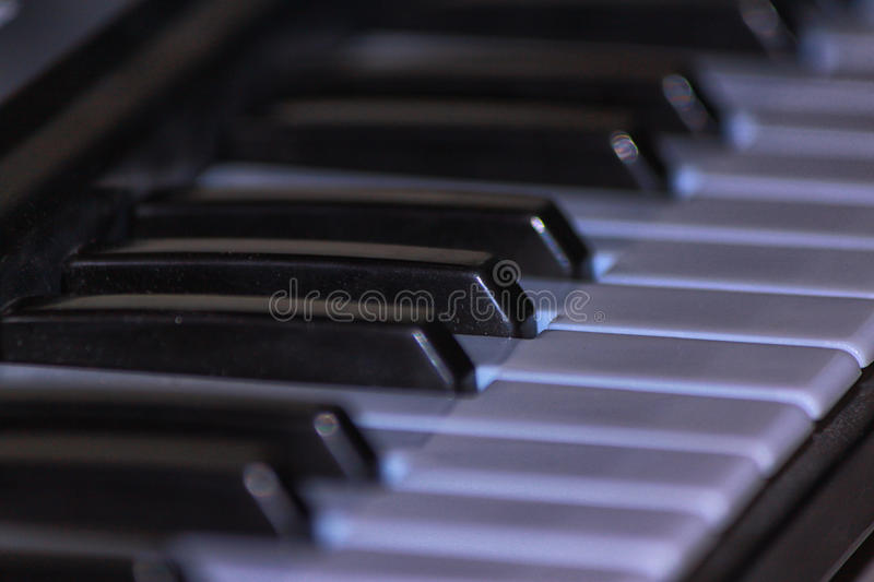 Toy piano. For children use for play stock image