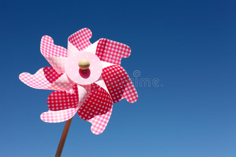 Download Toy Pinwheel Against Blue Sky Stock Image - Image: 34267321