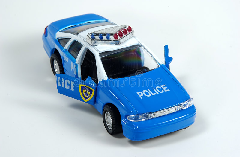 Download Toy Police Car stock photo. Image of arrest, auto, police - 33874