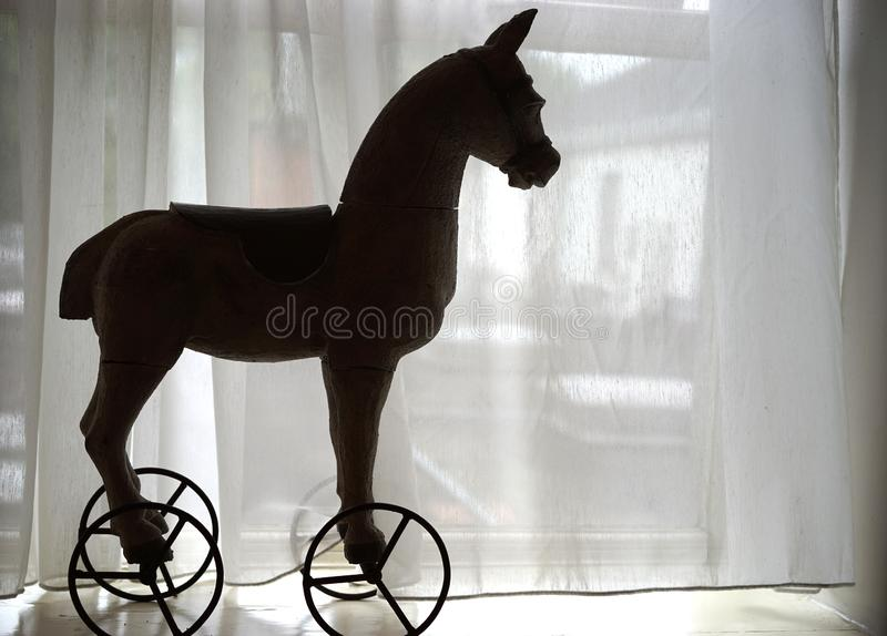 Toy pony of times gone by stock images