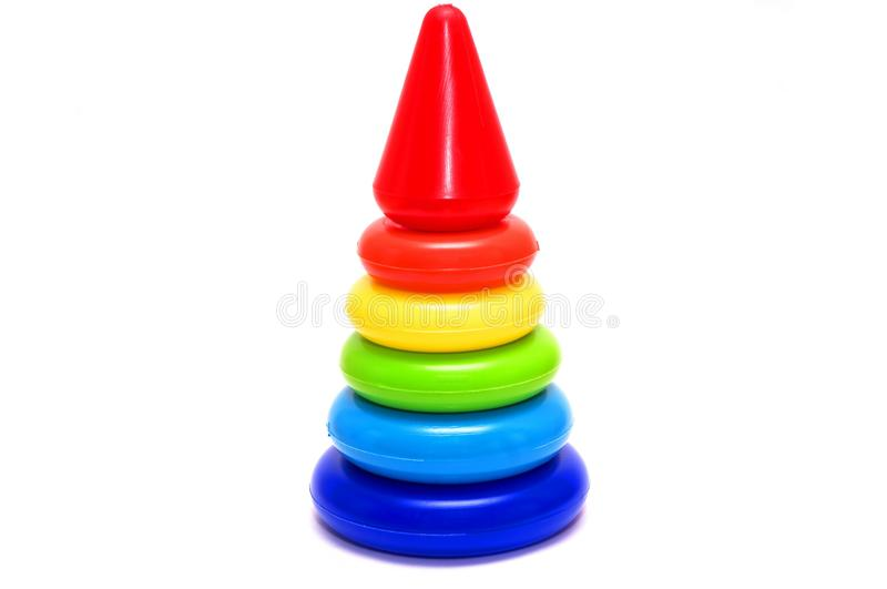 Toy pyramid stock images