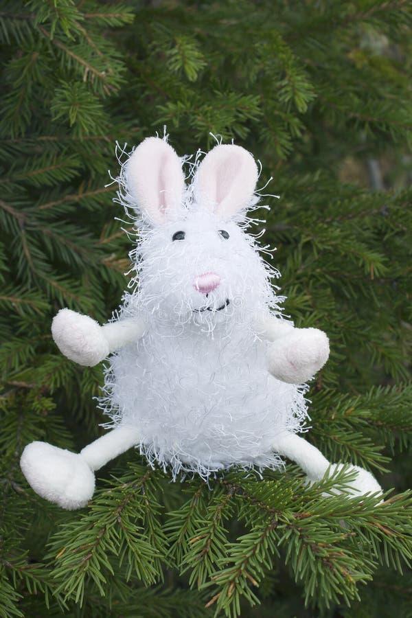 Download Toy rabbit stock image. Image of needles, spruce, single - 16198385