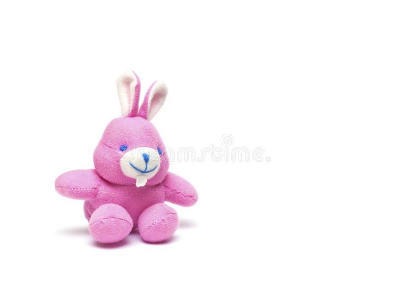 Toy rabbit stock photography