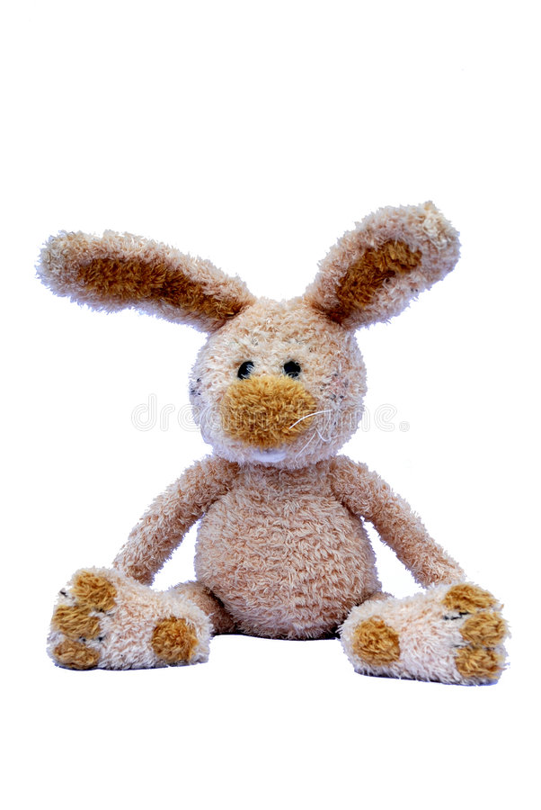 Toy rabbit royalty free stock photo