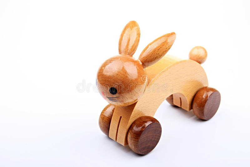Toy Rabbit imagem de stock royalty free