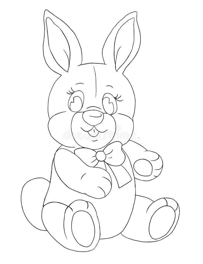 Toy Rabbit stock de ilustración