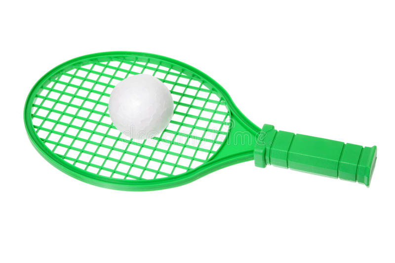 Download Toy Racket stock image. Image of ball, play, white, isolated - 23324995