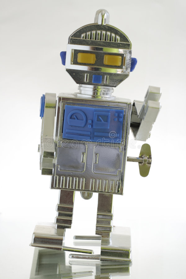 Download Toy robot stock image. Image of space, robots, mechanical - 1009837