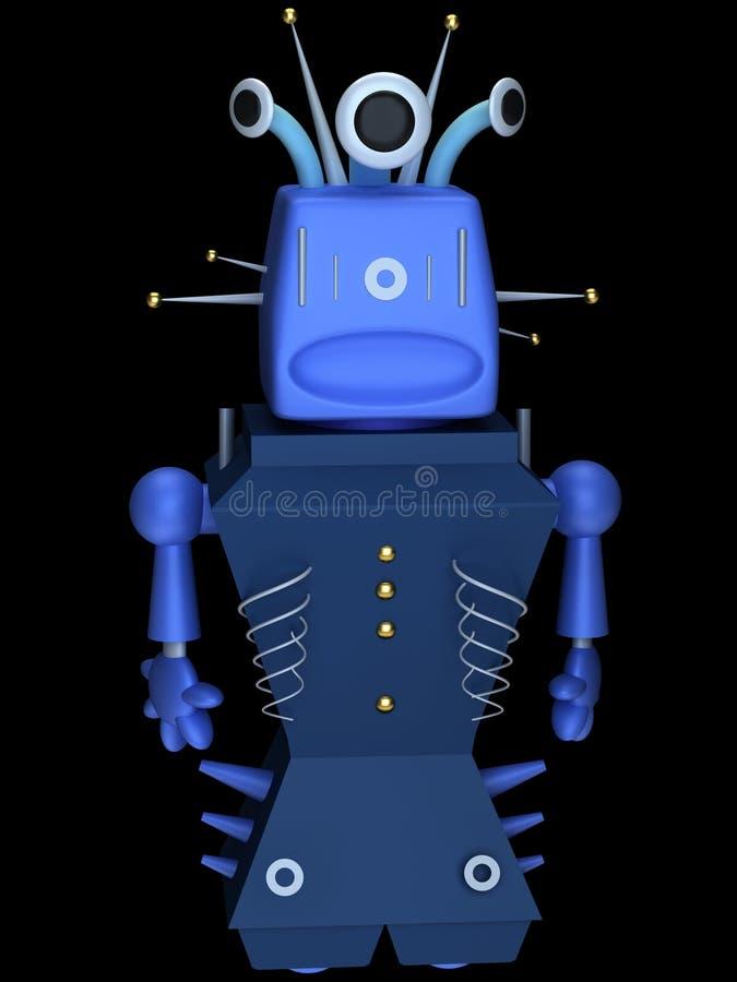 Download Toy robot stock illustration. Illustration of future - 21872381