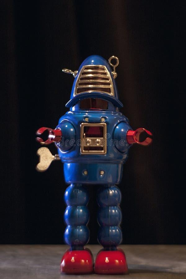 Toy Robot immagine stock libera da diritti
