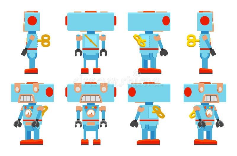 Toy Robot ilustración del vector