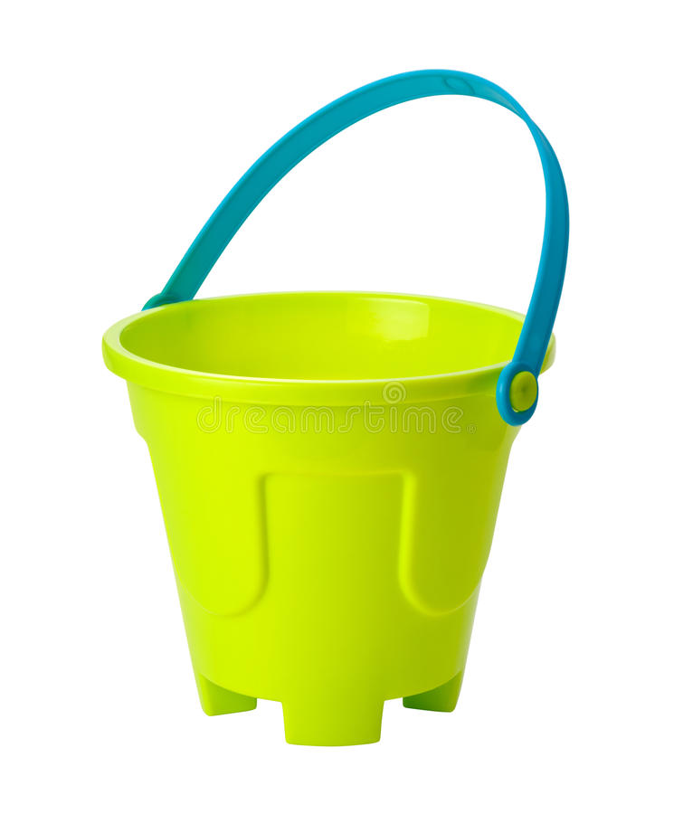 Free Toy Sand Pail (clipping Path) Stock Photos - 18883673