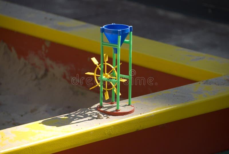 Download Toy in sandbox stock image. Image of colored, sandbox - 9309201