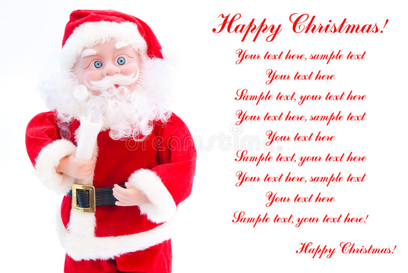 Download Toy Santa Claus Royalty Free Stock Photos - Image: 22260308