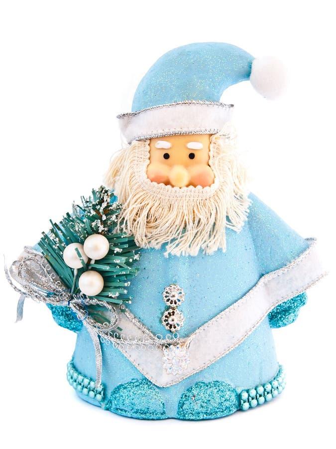 Toy santa claus royalty free stock photo