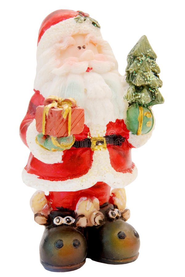 Toy Santa Claus royalty free stock images