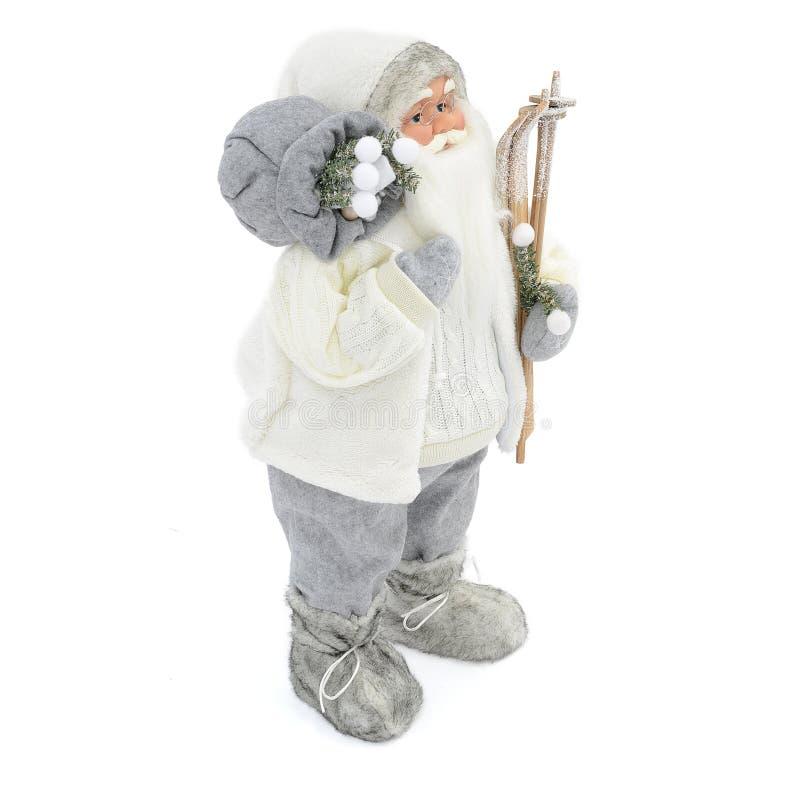 Toy Santa Claus stock image