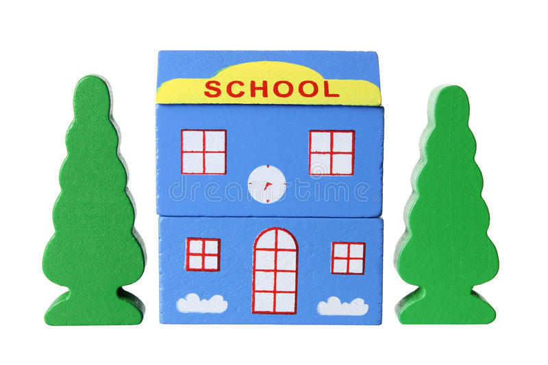 Download Toy School Building stock photo. Image of still, classrooms - 32520814