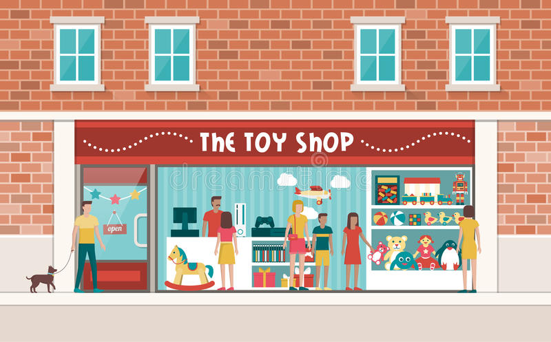 Toy Shop illustration libre de droits