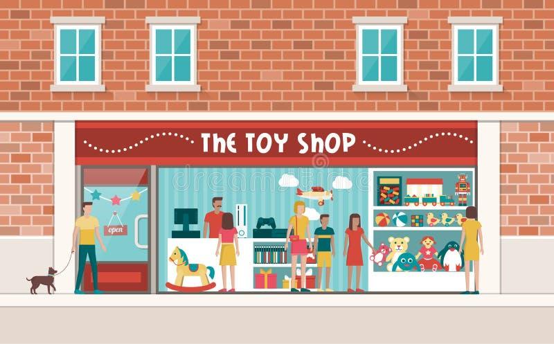 Toy Shop libre illustration