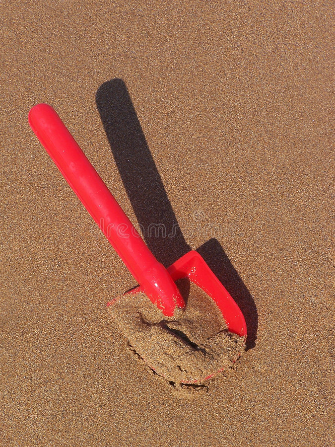 Download Toy Shovel stock image. Image of beach, paddle, relaxing - 3059705