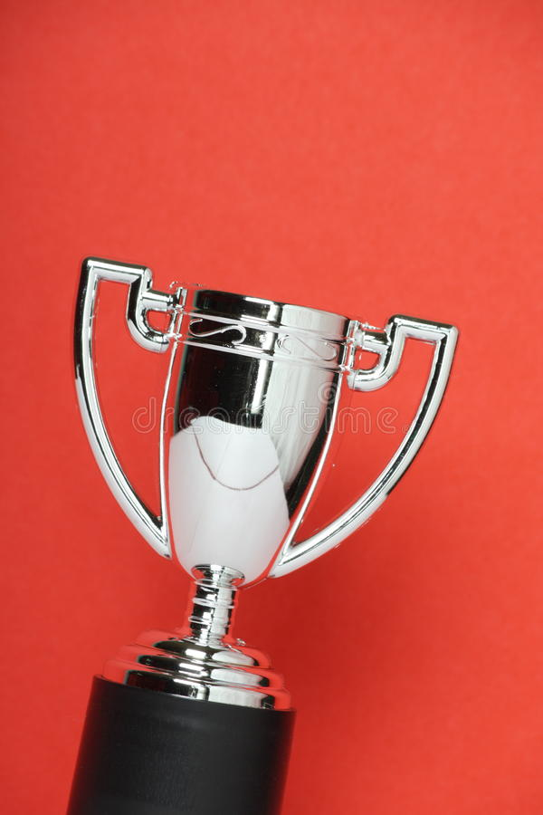 Toy Silver Trophy Cup fotografia stock