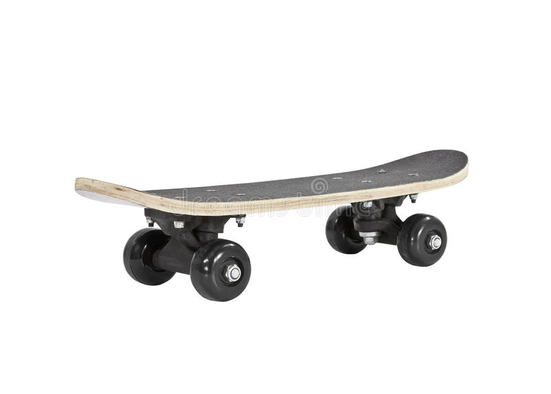 Toy Skateboard Isolated with Clipping Path royalty free stock photography