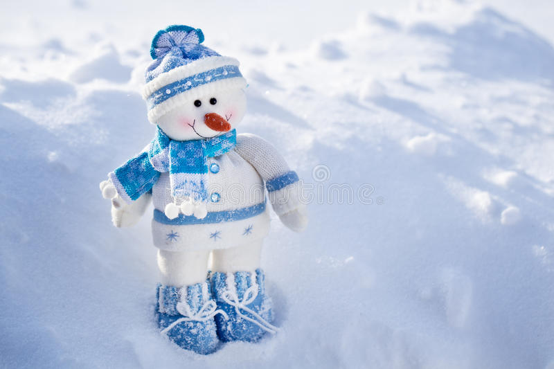 Download Toy snowman. stock photo. Image of space, snowman, copy - 28293698