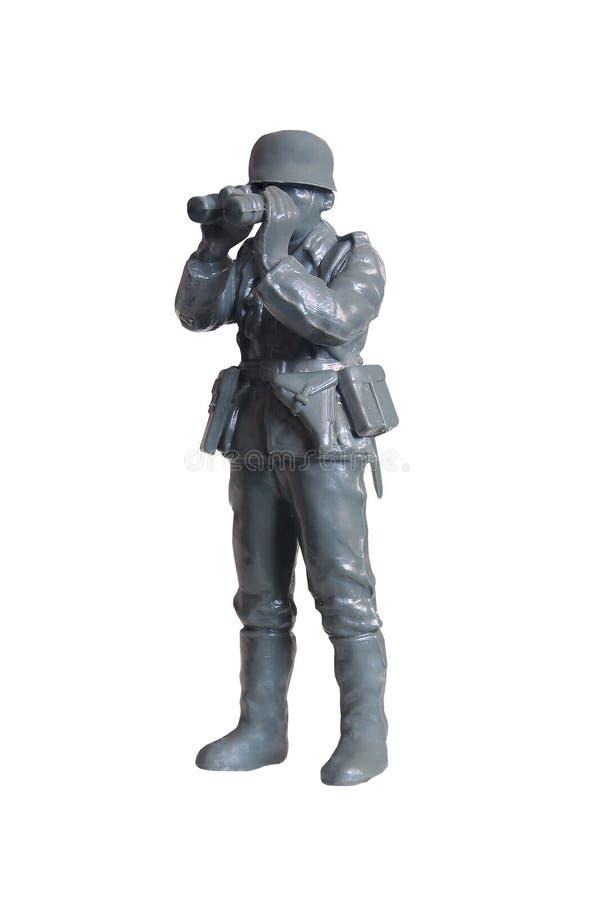 Toy soldaten arkivfoto
