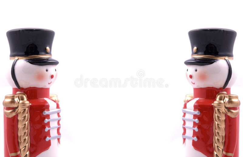 Toy Soldier. On Left and Right royalty free stock images